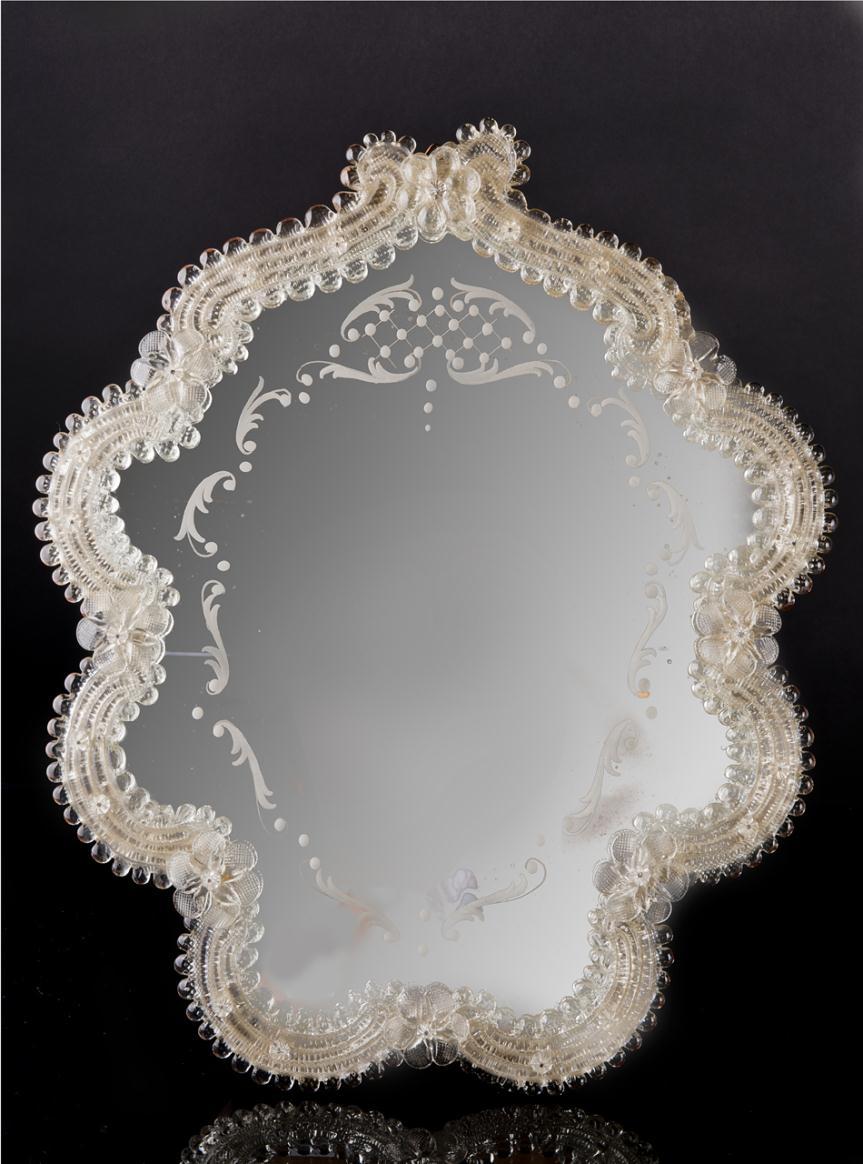 Miroir en verre de Murano